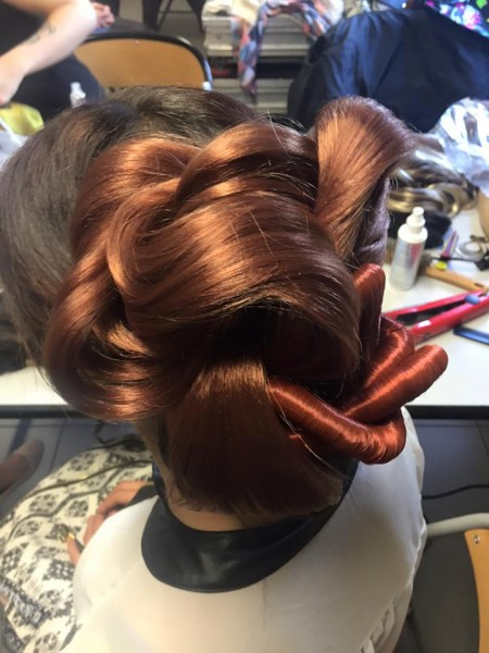 coiffure, rajout, extensions, cheveux, Fadyla_K, soirée, defilé, show